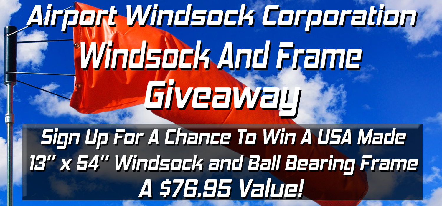Airport Windsock Corp  Free Giveaway! | Create Your Own