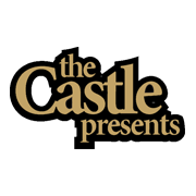 The Castle Presents Black And Gold Logo