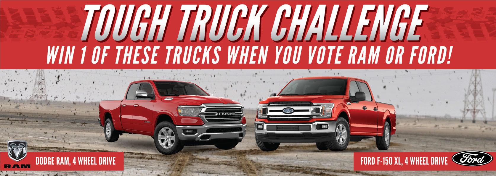 2018 truck raffles giveaways