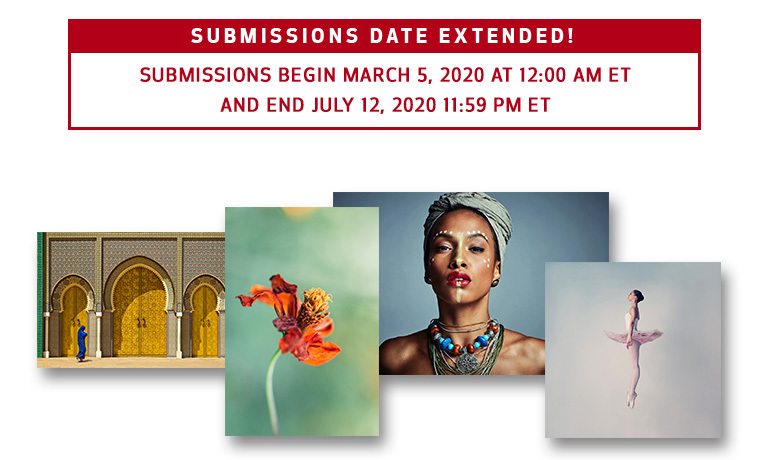 Submissions begin March 5, 2020 at 12:00 AM ET and end March 22 at 11:59 PM ET
