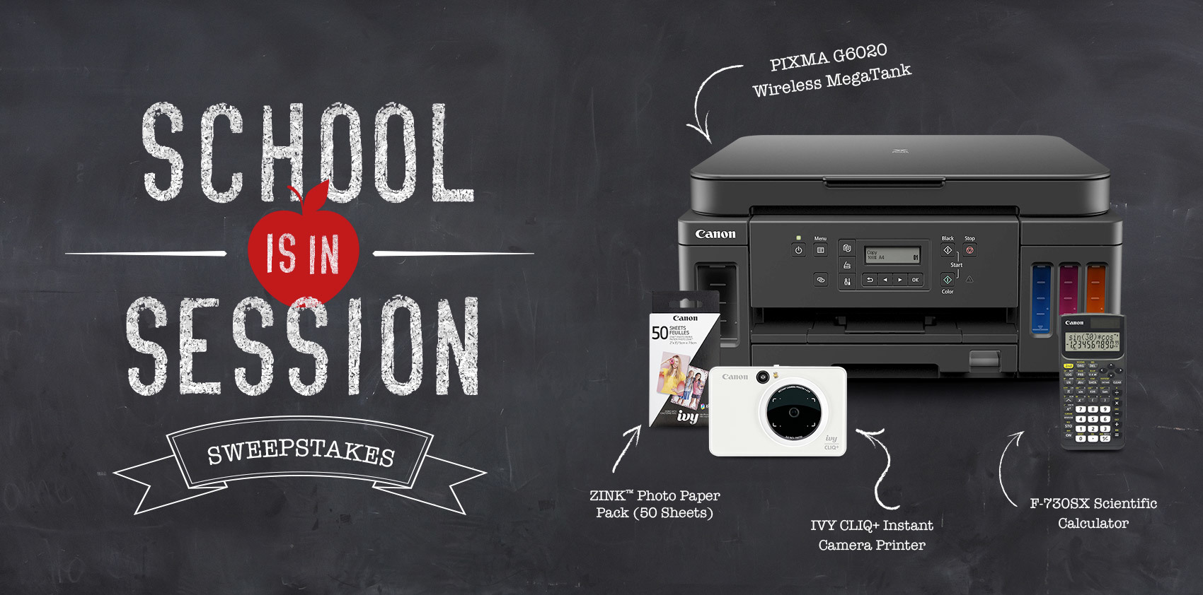 The Canon School in Sessions Sweepstakes