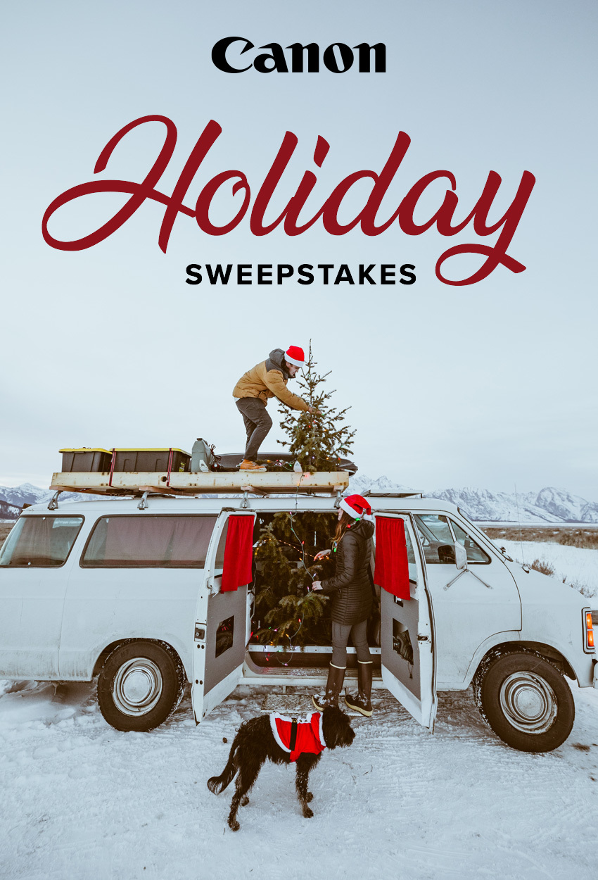 Canon Road Trip Sweepstakes with Parker Burkett & Paul Seibert