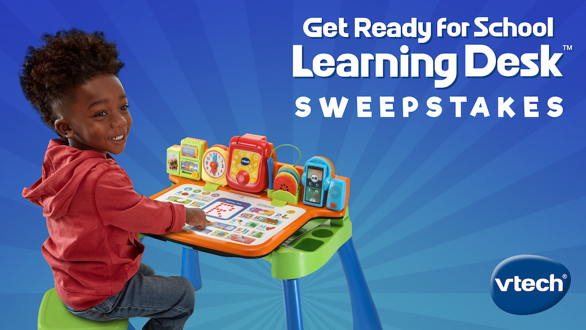 VTech Get Ready For School Learning Desk Sweepstakes