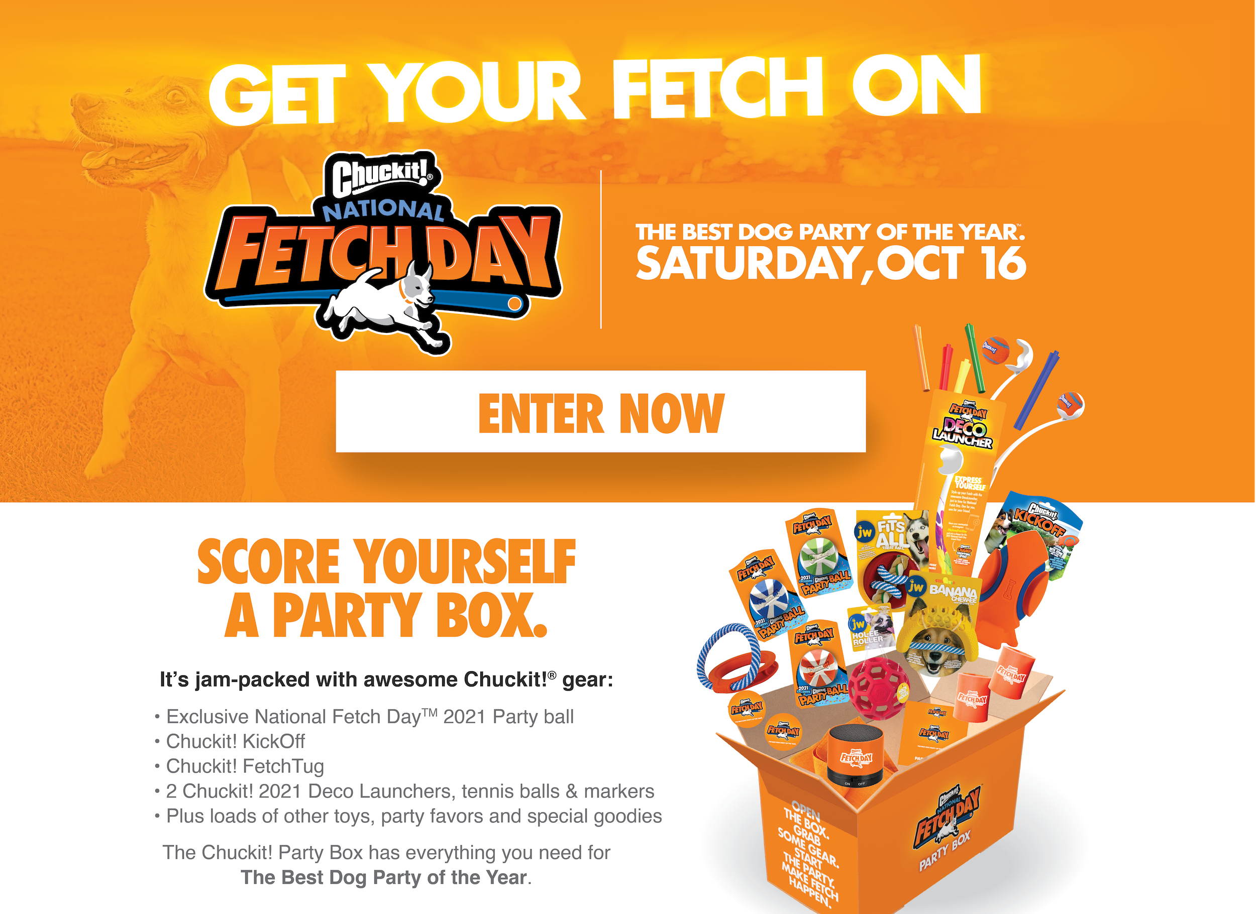 National Fetch Day Sweepstakes