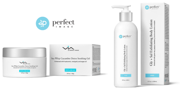 Sea Whip Cucumber Detox Soothing Gel, $29.95 & Gly + Sal Exfoliating Body Lotion, $29.99