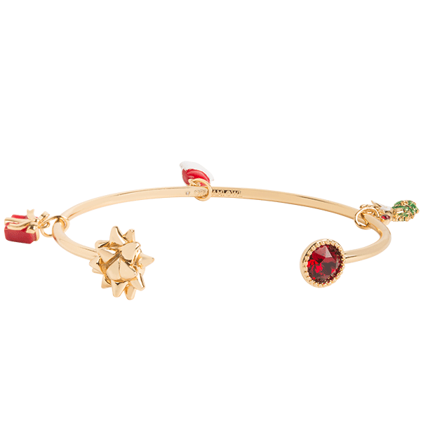 HOLIDAY FUN SWAROVSKI BANGLE BRACELET