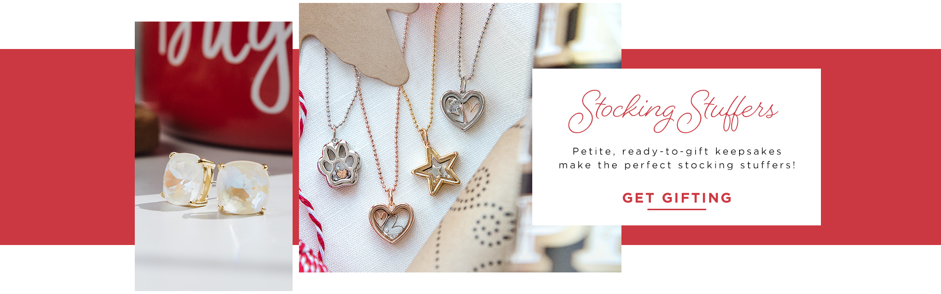 Stocking Stuffers - Capsule Necklaces