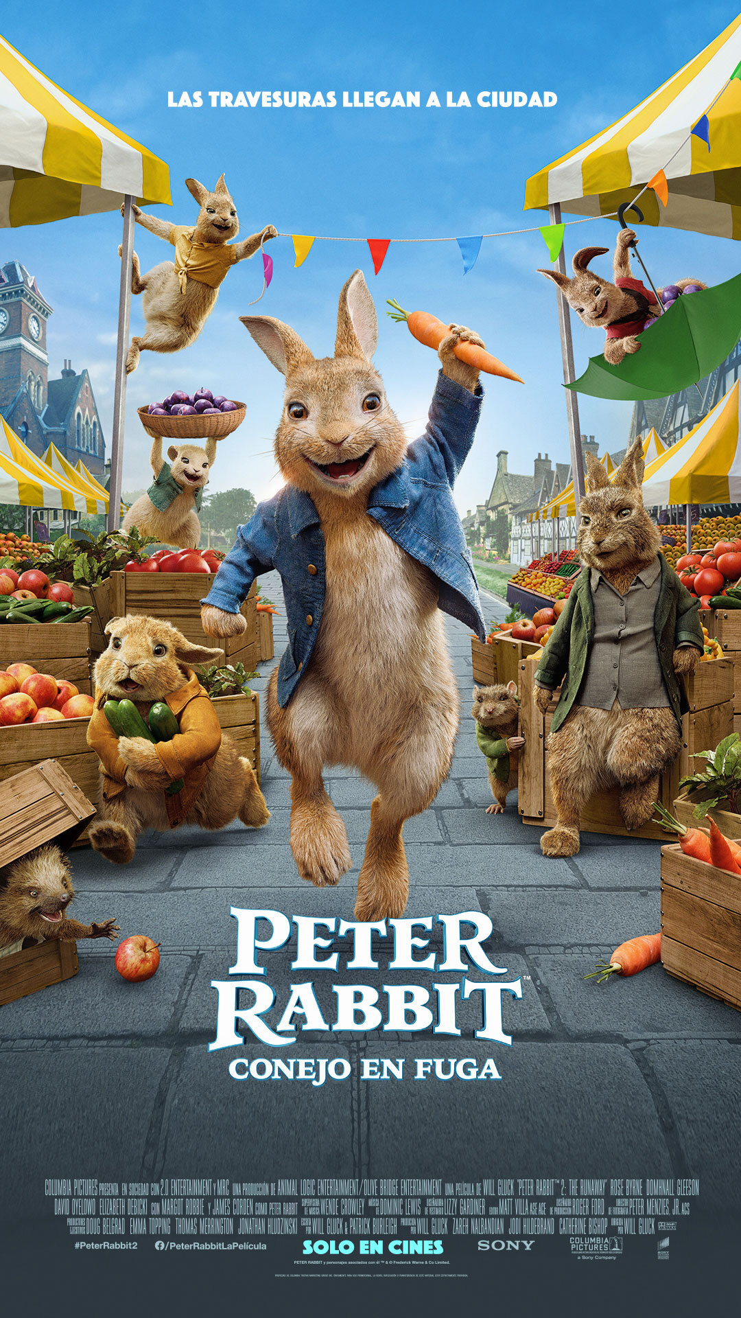 Peter Rabbit: Conejo en Fuga