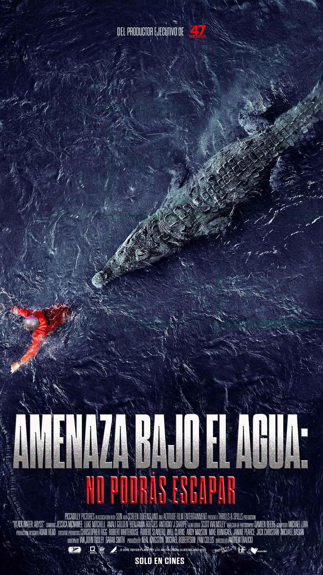Amenaza Bajo El Agua: No Podrás Escapar