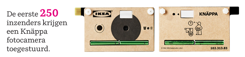 Ikea Knappa photocamera