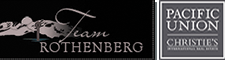 team rothenberg & pacific union christies international logo