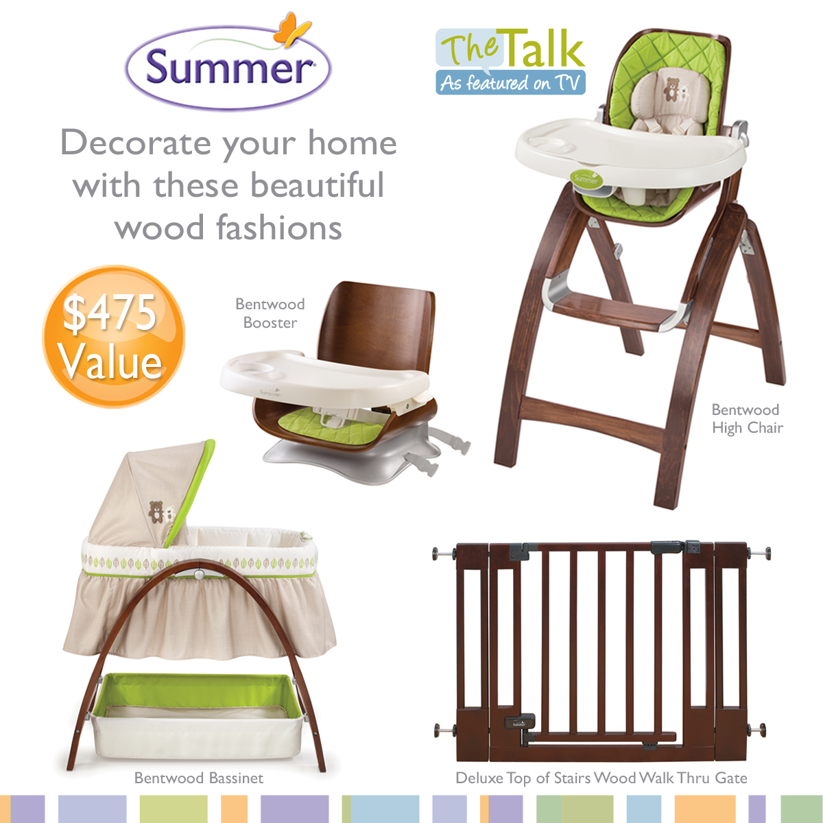 Fashionable Summer Infant Bentwood Baby Furniture Giveaway