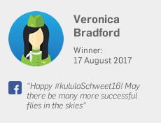 Winner 17 August: Veronica Bradford